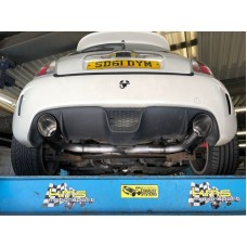 "KMS Motorsport Cat Back ""Section 18"" Exhaust  - Fiat Abarth 500"