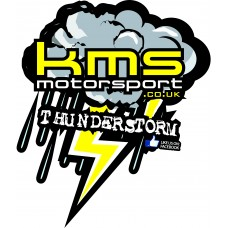 KMS Motorsport Decal Thunderstorm