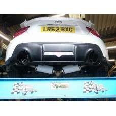 KMS Motorsport Cat Back Exhaust - Toyota GT86