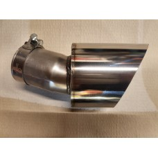 """KMS Motorsport 5"""" Exhaust Trims (RS Section 18) Polished or Black"""
