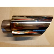 "KMS Motorsport 5"" Exhaust Trims (RS Thunderstorm) Polished or Black"