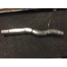 KMS Motorsport Centre Box Delete Pipe (DERES) - S3 8v Golf Mk7 R