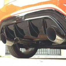 "KMS Motorsport Cat Back Exhaust ""Hurricane"" - Fiesta Mk7 ST180"
