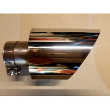"""KMS Motorsport 4.5"""" Exhaust Trims (ST250 Typhoon/Section 18) Polished or Black"""